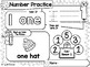 Number Worksheet 1-20 Winter Activity