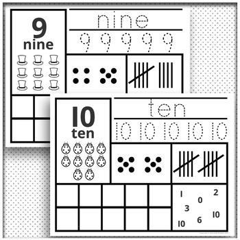 Number Sense Activity Worksheets