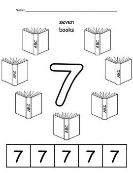 Number Worksheets 0-10 Level 1