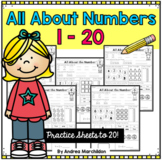 Number Worksheets 1 - 20