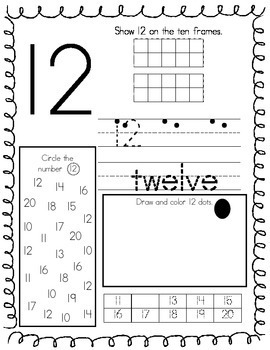 graphic about Printable Number Line 1-30 called Selection Worksheets 1-30