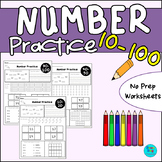 Number Worksheets - 10-100