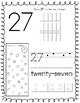 Number Worksheets 21-30