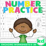 Number Practice - Number Worksheets