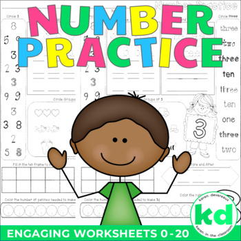 Number Practice Worksheets