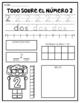 Number Worksheets- Spanish