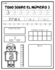Number Worksheets- Spanish