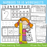 Number Worksheets 1-10