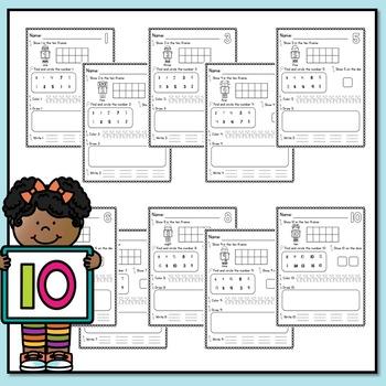 Number Worksheets 1-20