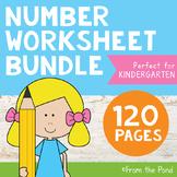 Number Worksheets for Kindergarten