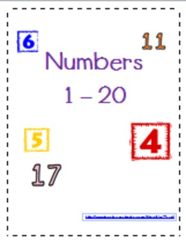 Number Write 1 - 20