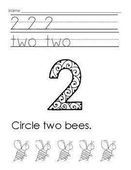 Number Writing 1 - 10, and Zero