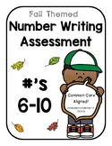 Number Writing Assessment (6-10)