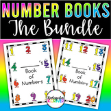 Number Writing Book BUNDLE 1 to 20 Kindergarten Math Number Sense Handwriting
