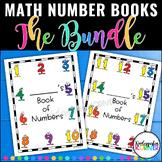 Number Writing Book BUNDLE 1-20 Kindergarten Math Number Sense Distance Learning