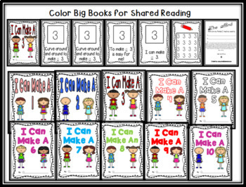 Number Writing Books