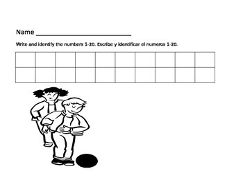 Number Writing Chart 1-90