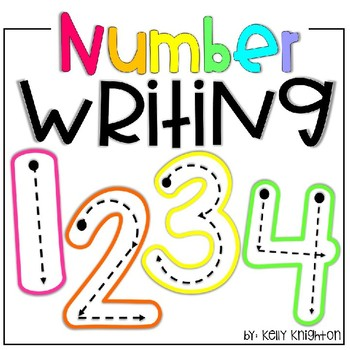 Number Writing / Formation Freebie