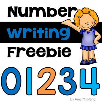 Number Writing Freebie!