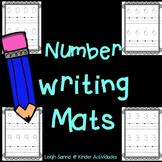 Number Writing Mats (0-10)