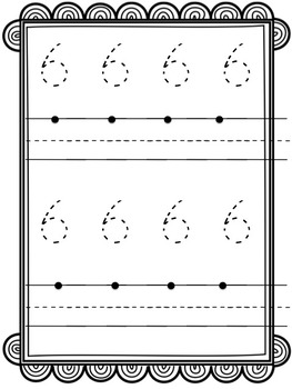 Number Writing Mats (0-10)