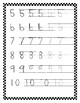 Number Writing Practice 0-10 for Handwriting Without Tears