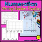 Number Writing Practice Number Sense Math Game Apple Theme
