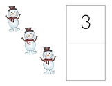 Number Writing Practice with Snowmen