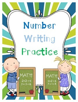 Number Writing & Counting Printables or Homework