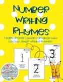 Number Writing Rhymes