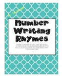 Number Writing Rhymes