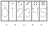 Number Writing Work Mat FREEBIE!