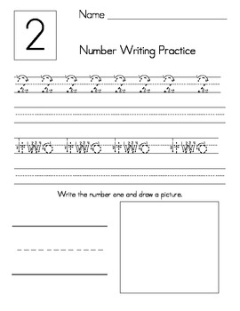 Number Writing from 1 to 30