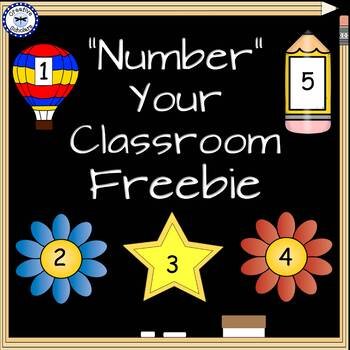 Number Your Class Beginning of the Year Freebie