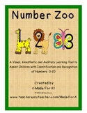 Number Zoo 123!  Number Identification and Recognition Tool  0-20
