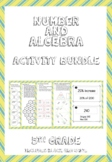 Number and Algebra Activity Bundle for 5th Grade