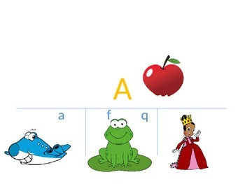 Number and Alphabet Matching