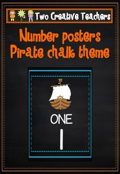 Number and Counting Posters - Pirate Theme