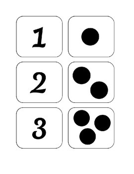 Numbers and Dots Printables for Pre-K and Kindergarten