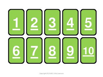 Number and Letter Dominos
