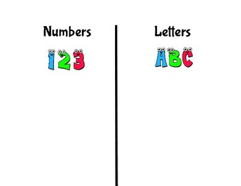Number and Letter Sort