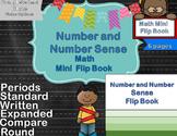 Number and Number Sense Foldable & Mini Flip Book