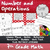 Number and Operations - (7th Grade Math TEKS 7.2A and 7.3A-B)