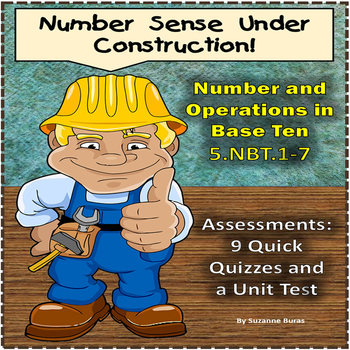 Number and Operations in Base Ten: 5.NBT.1-7 - Assessments