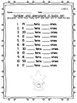 Number and Operations in Base Ten Assessment 1st Grade Mat