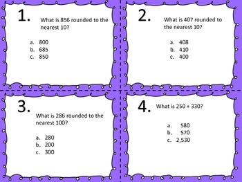 Number and Operations in Base Ten--Common Core--Third Grade