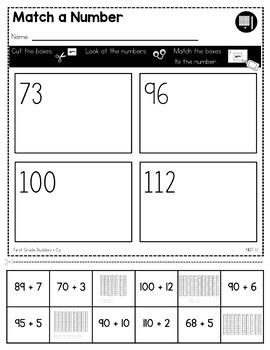 Print a Standard 1.NBT.1 {Count to 120} No Prep Pack