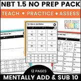 Print a Standard NBT 1.5 {Ten More / Ten Less} No Prep Activities + Assessments