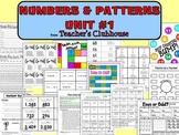 Number and Patterns Unit #1 from Teacher's Clubhouse