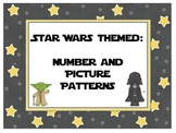 Number and Picture Patterns - Star Wars